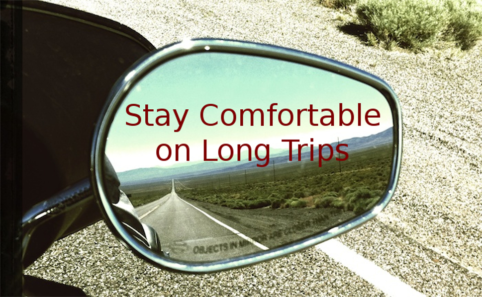 How to get comfortable on Long Road Trips!!