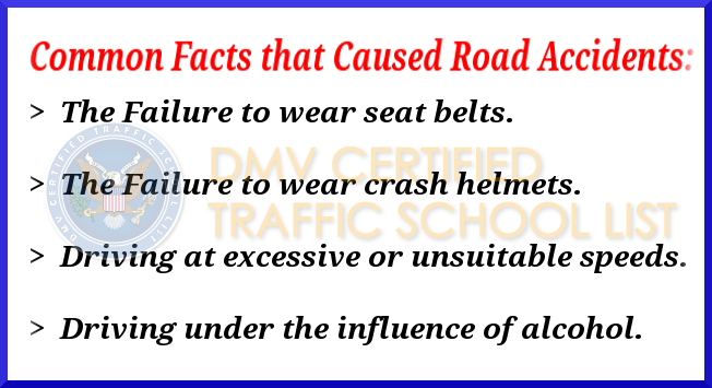 Common Road Accidents Facts
